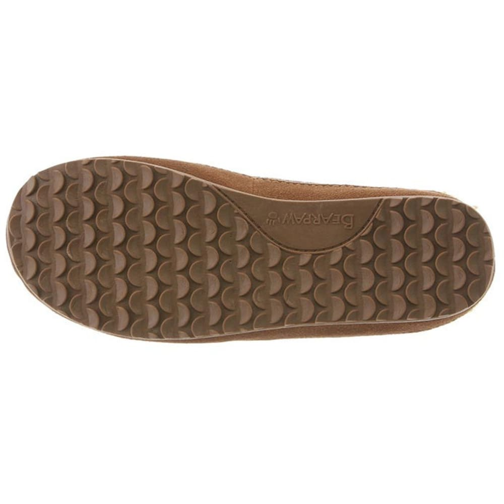 BEARPAW Women's Jess Slippers, Hickory II - HICKORY II