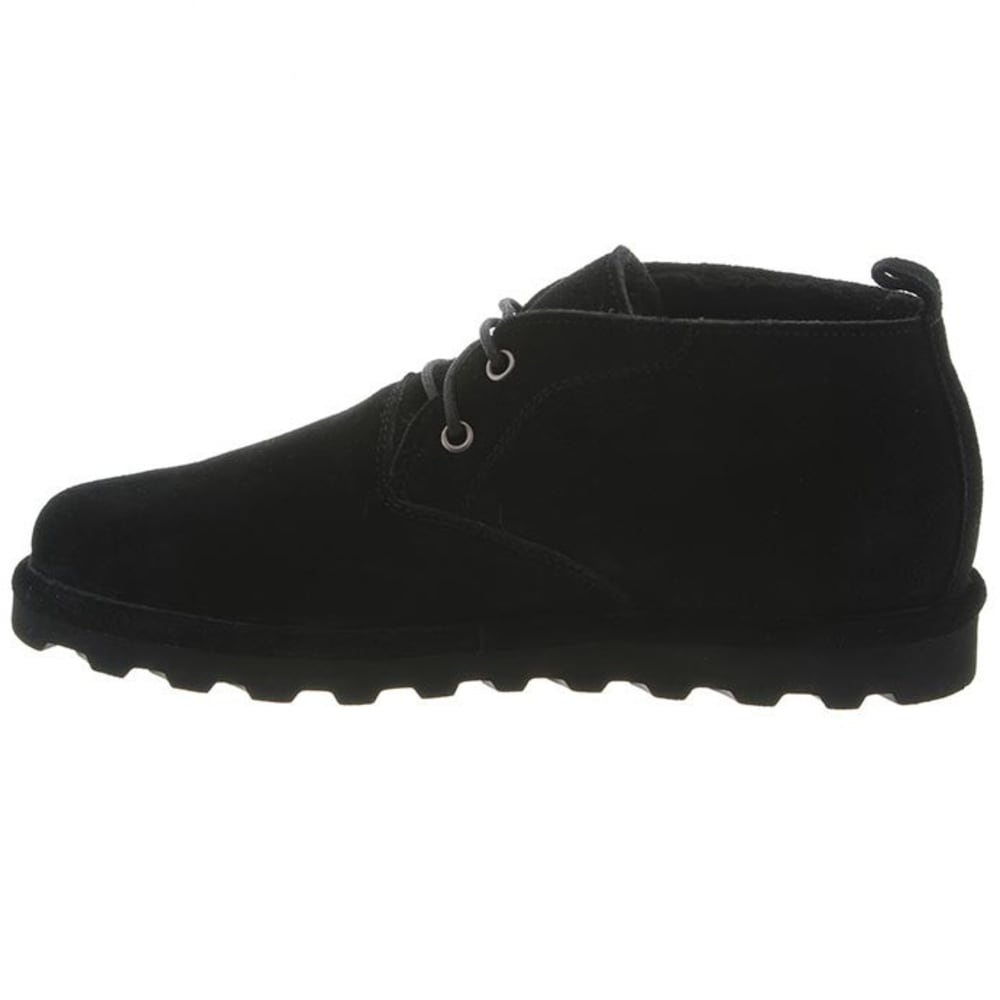 BEARPAW Men's Spencer Shoes, Black II - BLACK II