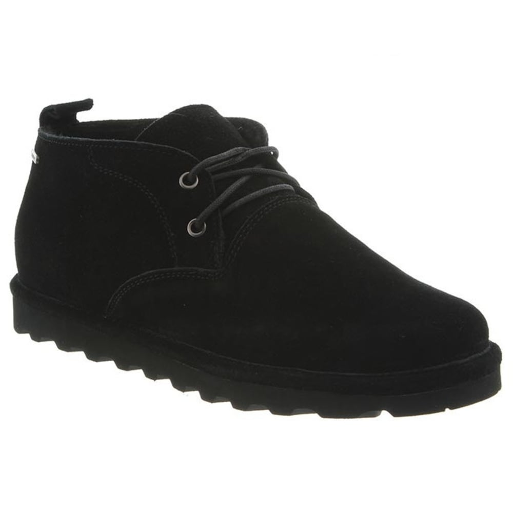 BEARPAW Men's Spencer Shoes, Black II - BLACK II
