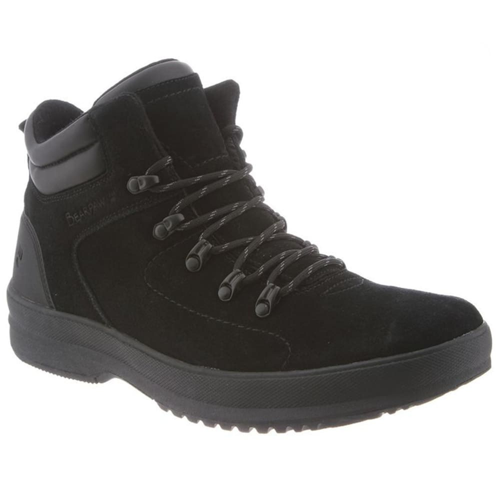 BEARPAW Men's Dominic Boots, Black II - BLACK II