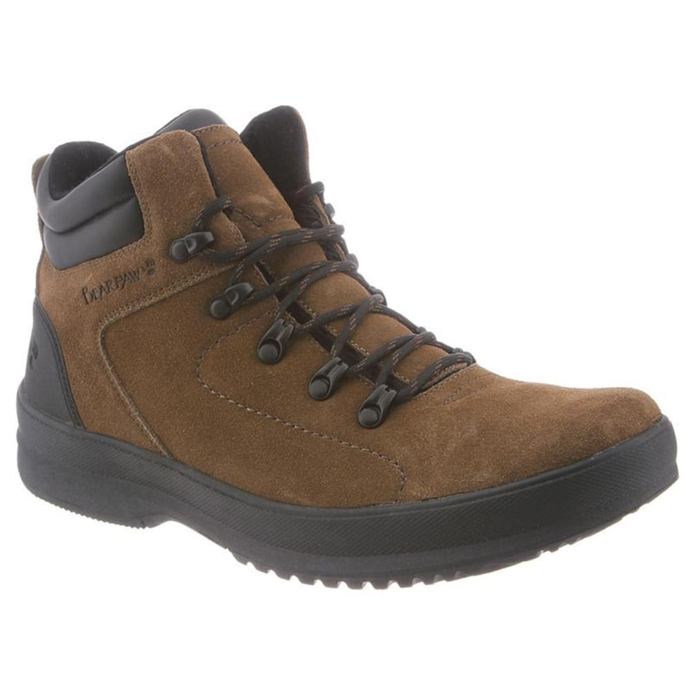 BEARPAW Men's Dominic Boots, Olive - OLIVE