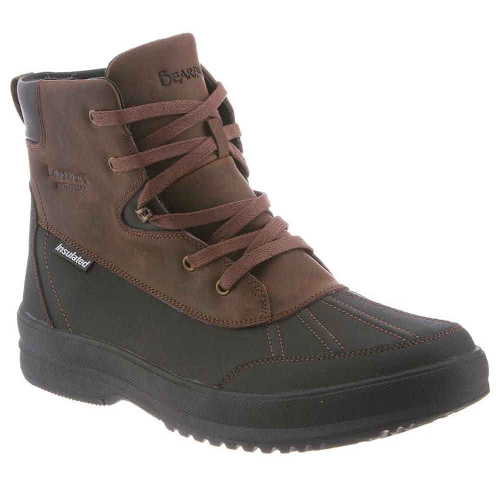 BEARPAW Men's Lucas Boots, Chocolate II - CHOCOLATE II