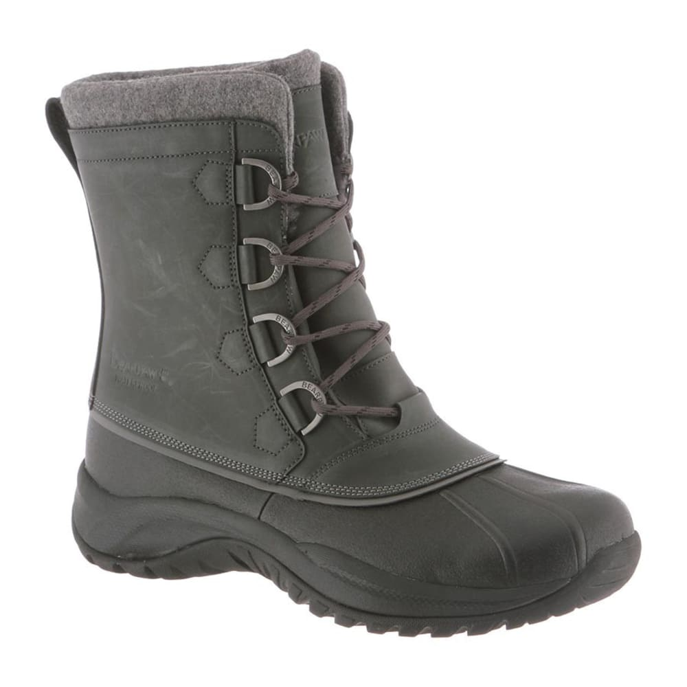 BEARPAW Men's Colton Boots, Gray II - GRAY II
