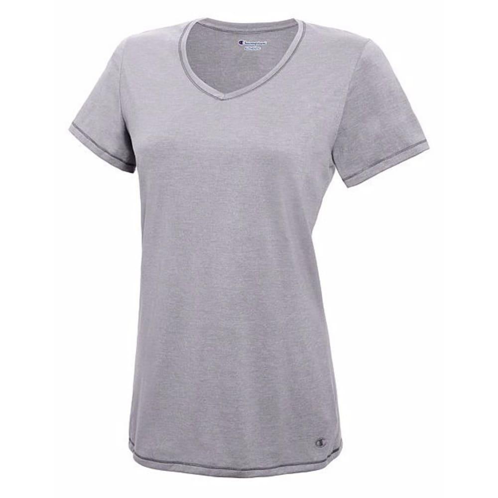 CHAMPION Women's Vapor® Cotton T-Shirt - OXFORD GREY-023