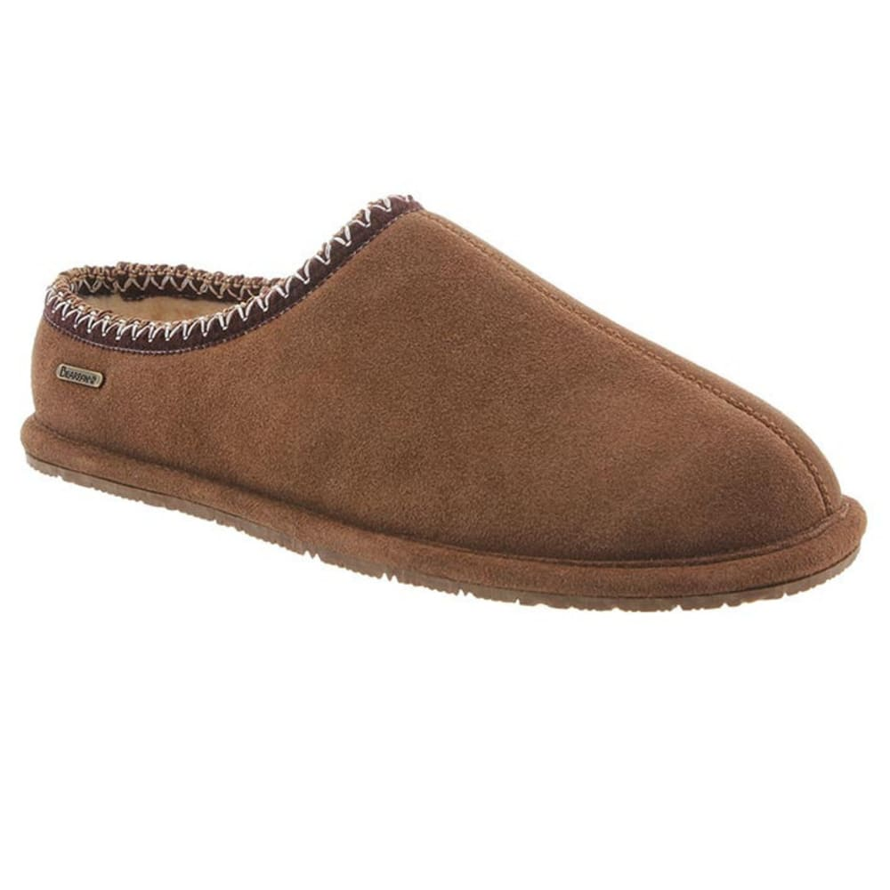 BEARPAW Men's Joshua Slippers, Hickory II - HICKORY II