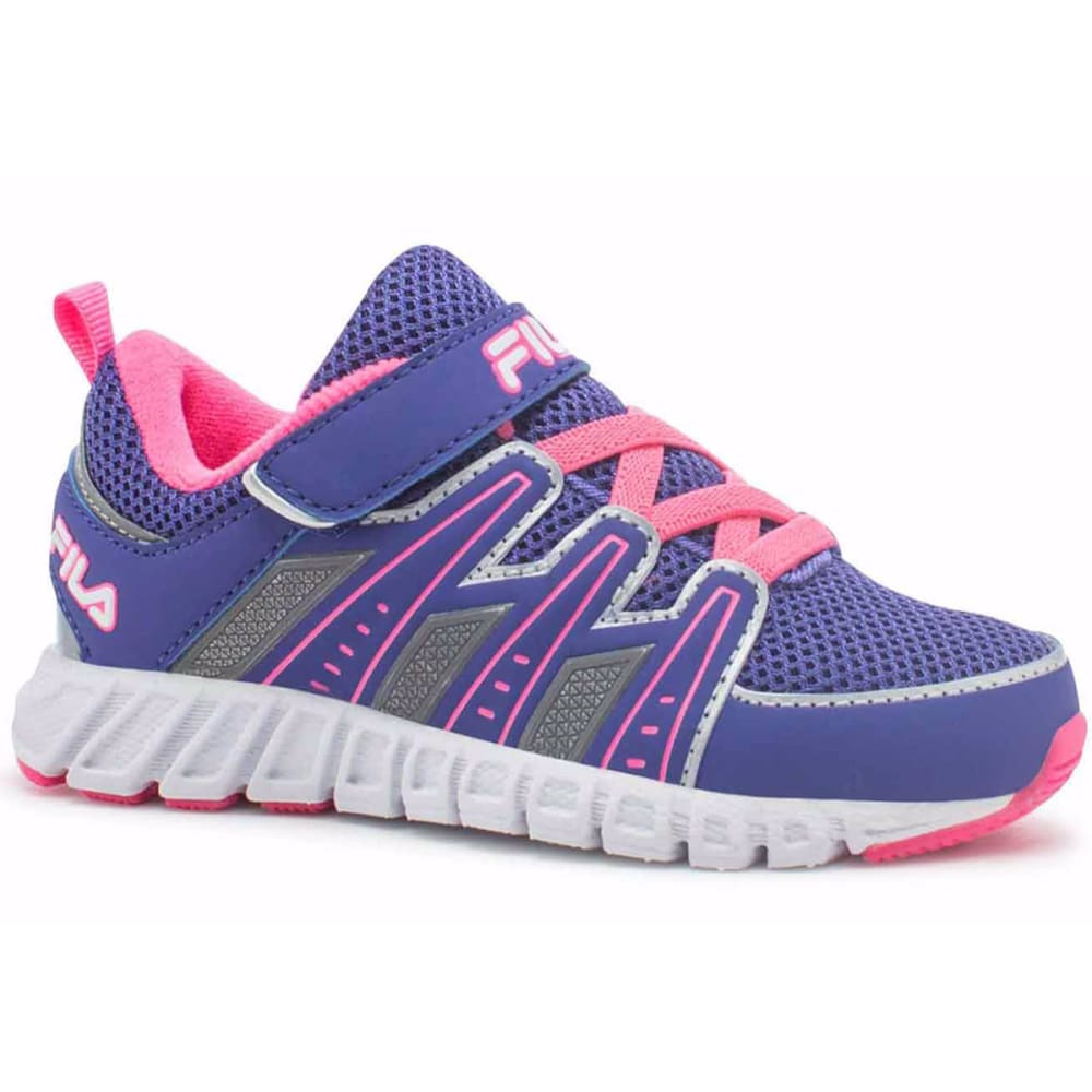 FILA Toddler Girls' Crater 5 Sneakers, Pink/Purple/White - PINK/PUR/WHITE