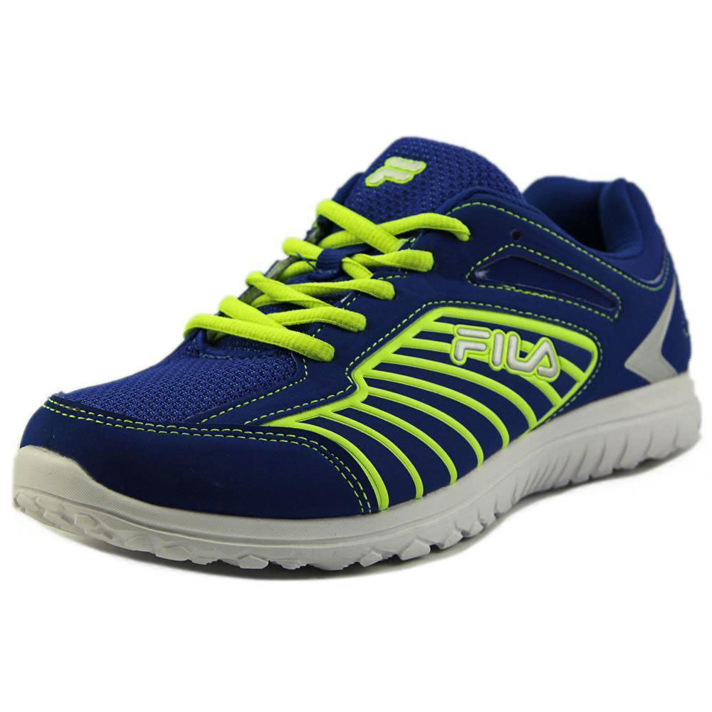 FILA Toddler Boys' Rocket Fueled TD Sneakers, Blue/Lime - BLUE/LIME