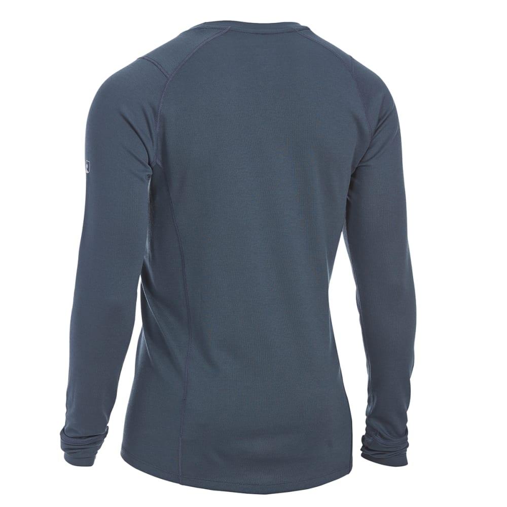 EMS® Men's Techwick® Midweight Long-Sleeve Crew Base Layer - MIDNIGHT NAVY