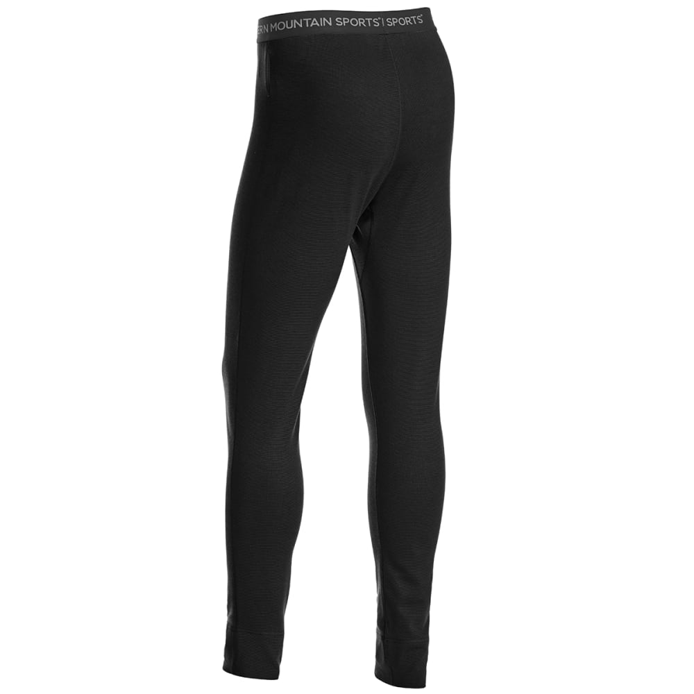 EMS® Men's Techwick® Midweight Base Layer Bottoms - BLACK