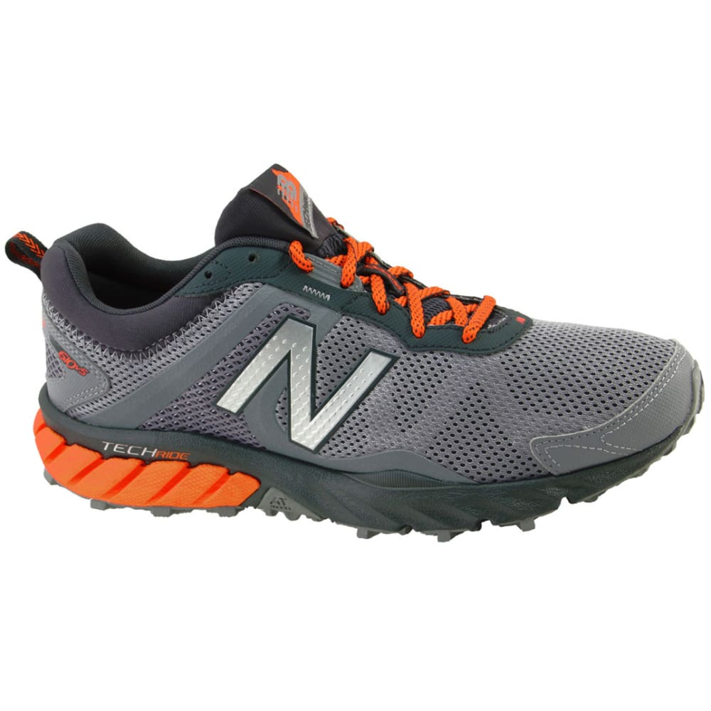NEW BALANCE Men's 610v5 Trail Running Shoes, Grey - GREY