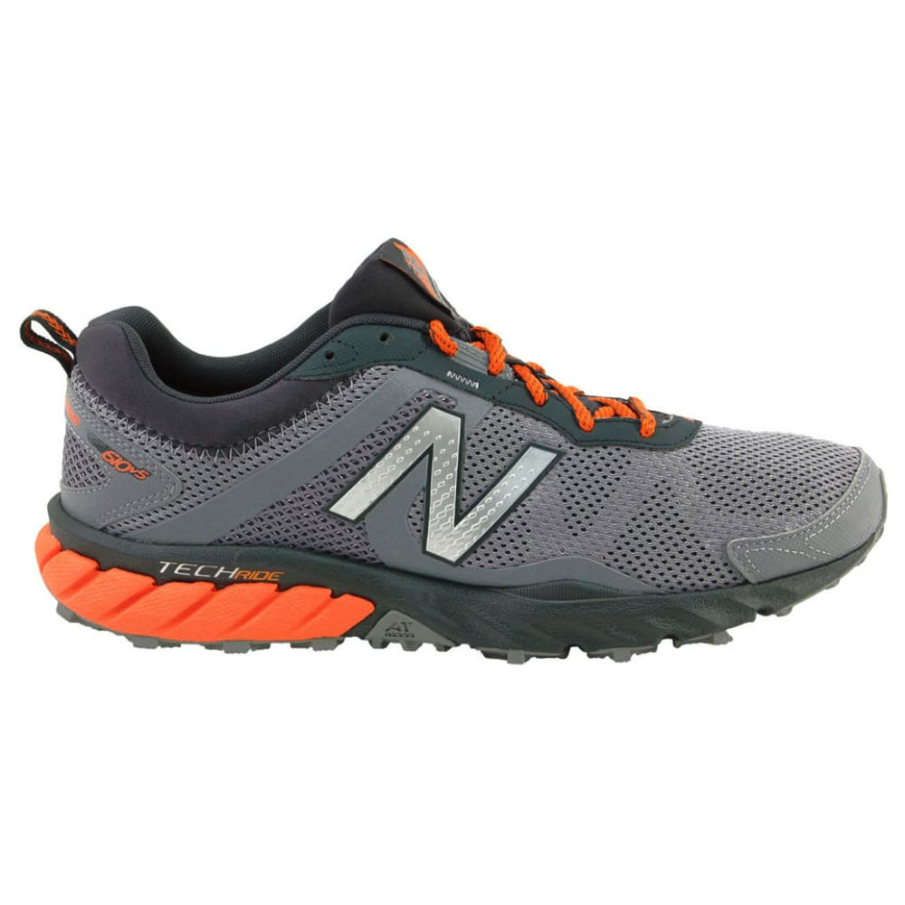 NEW BALANCE Men's 610v5 Trail Running Shoes, Grey, Wide - GREY