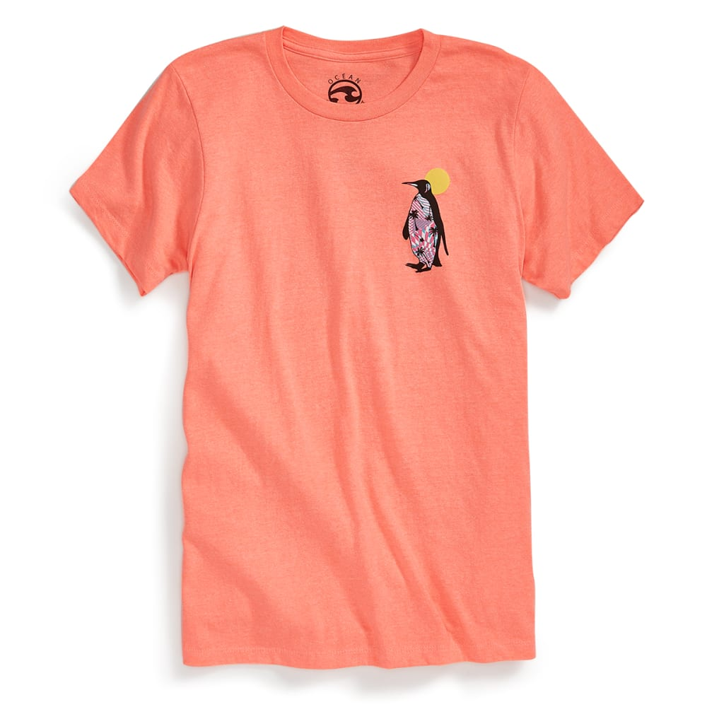 OCEAN CURRENT Guys' Strolling Tee - NEON PEACH