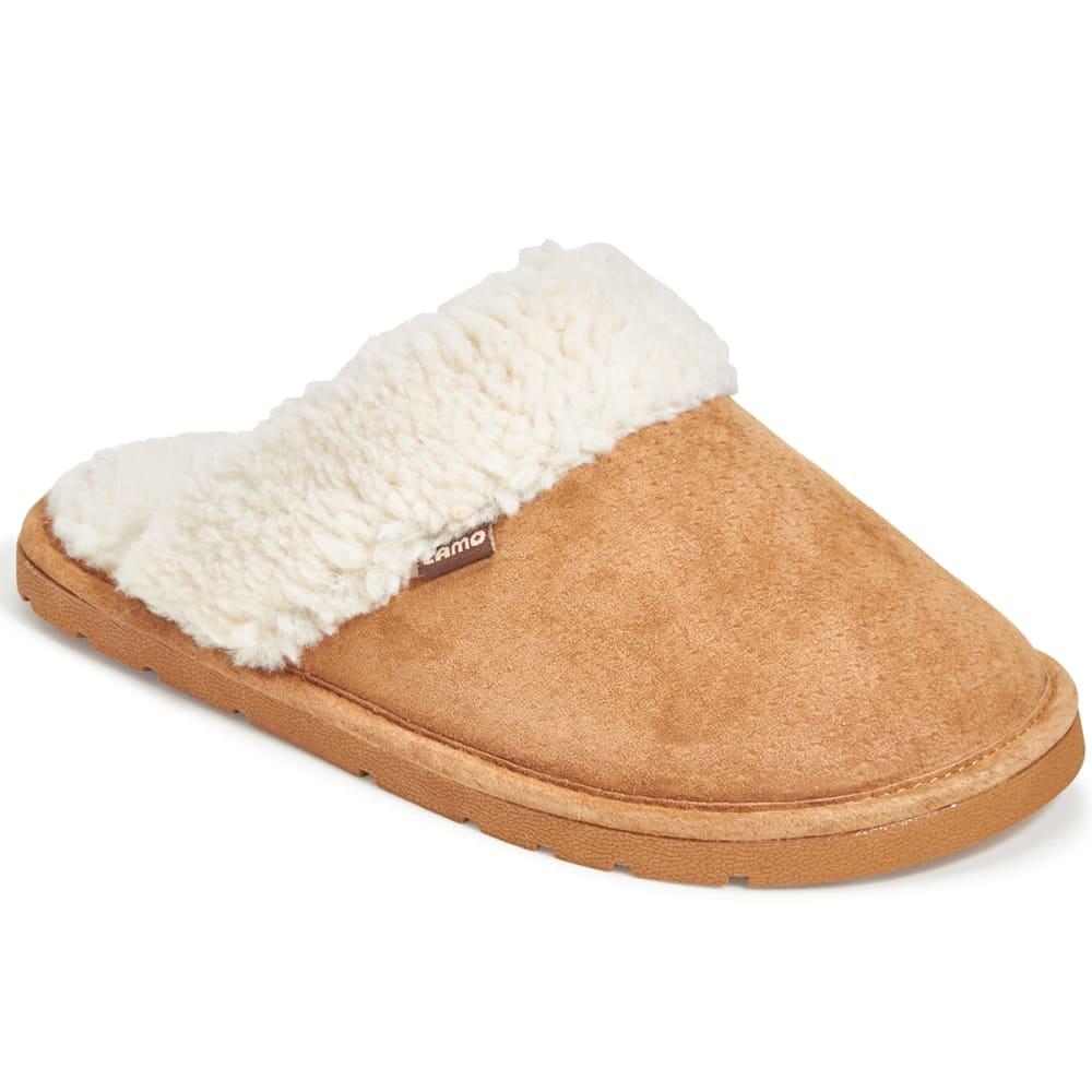 LAMO Women's Cora Suede Slippers, Chestnut - CHESTNUT
