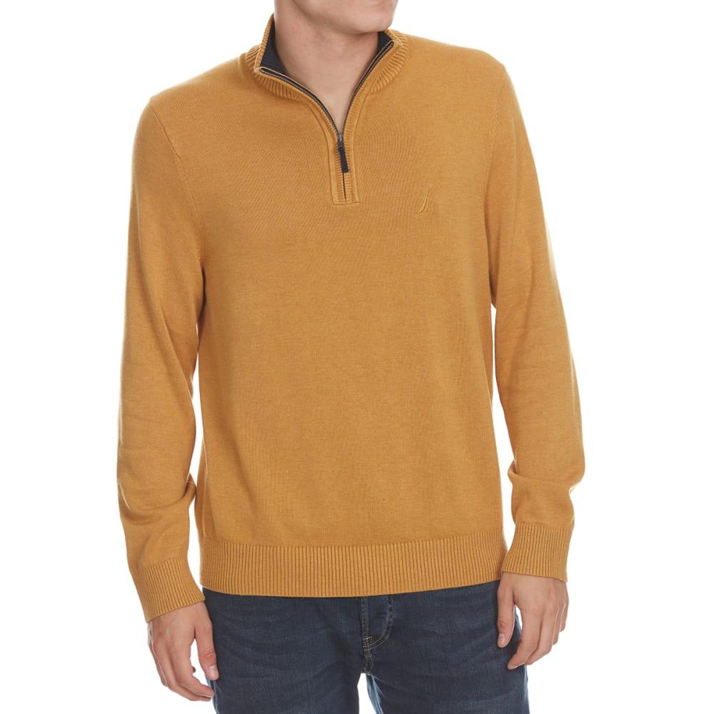 NAUTICA Men's Quarter-Zip Pullover M