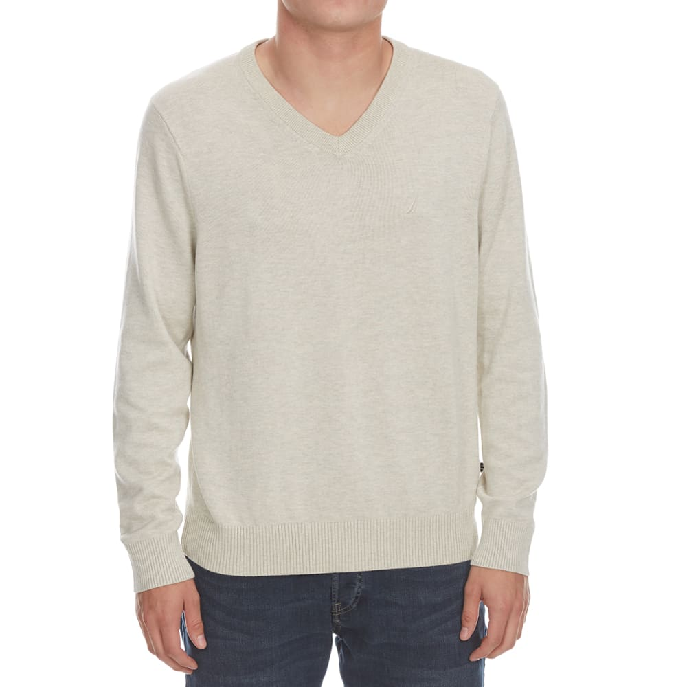 NAUTICA Men's V-Neck Sweater M