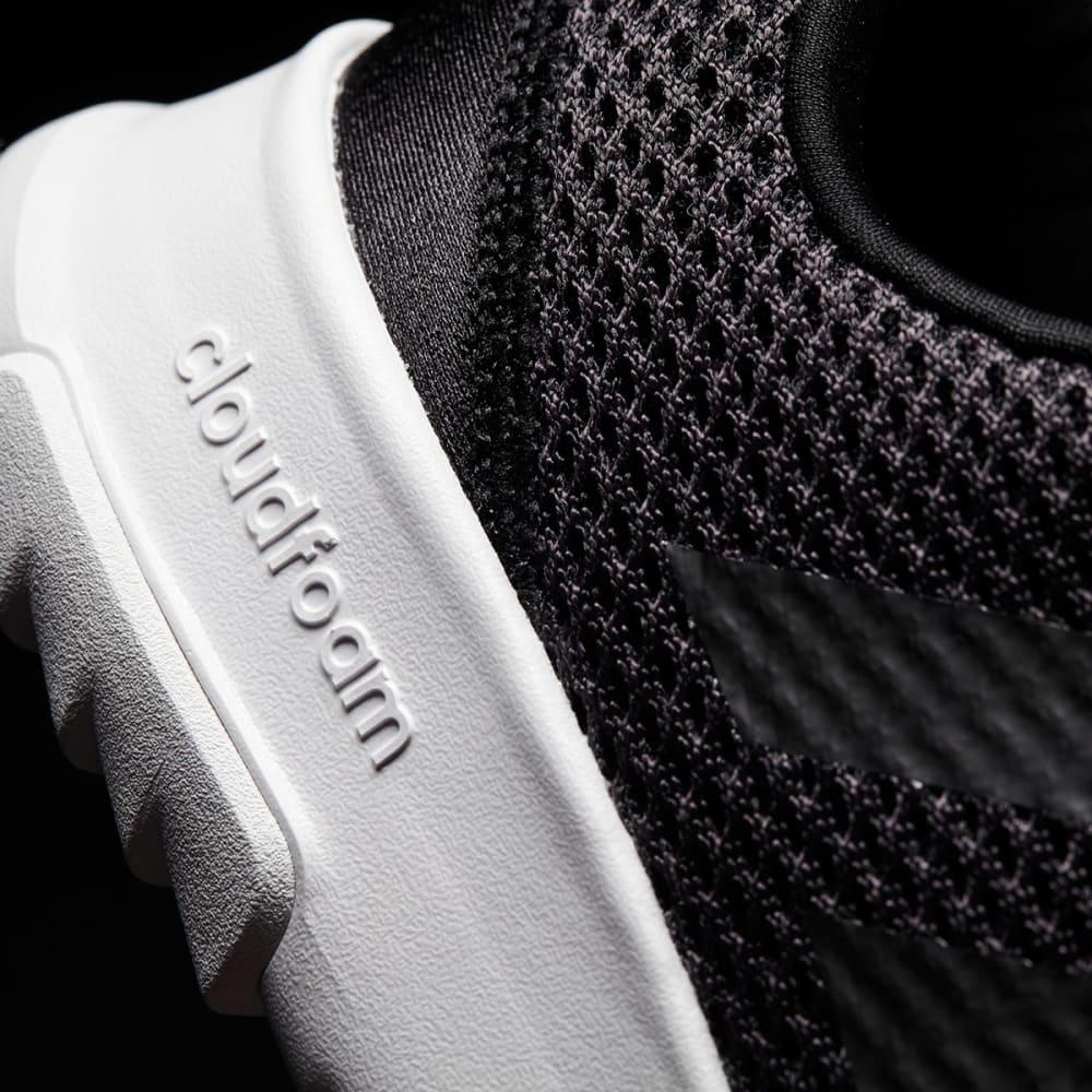 ADIDAS Boys' Neo Cloudfoam Racer TR Running Shoes, Black/White - BLACK