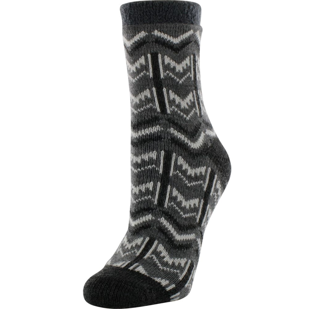SOF SOLE Women's Fireside Print Socks - GREY