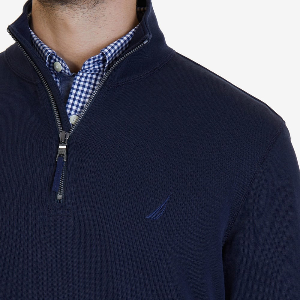 NAUTICA Men's ¼-Zip Pullover - TRUE NAVY-4TN