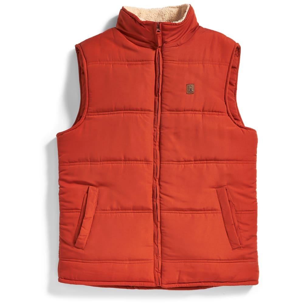 COLEMAN Men's Microfiber Vest - BURNT ORG