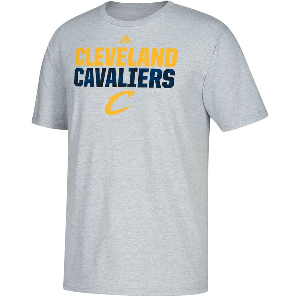 CLEVELAND CAVALIERS Men's Heather Short-Sleeve Tee - GREY