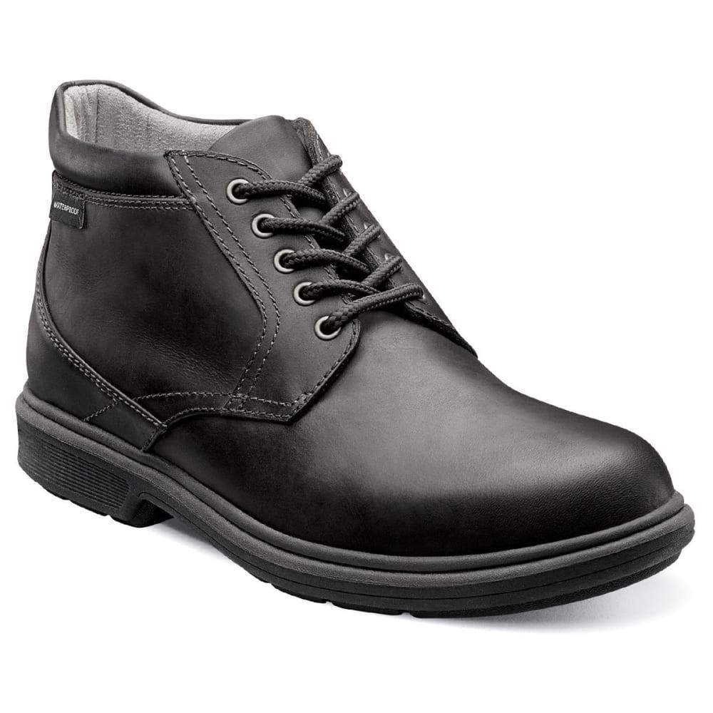 NUNN BUSH Men's Webb Lake Plain Toe Boots, Black - BLACK