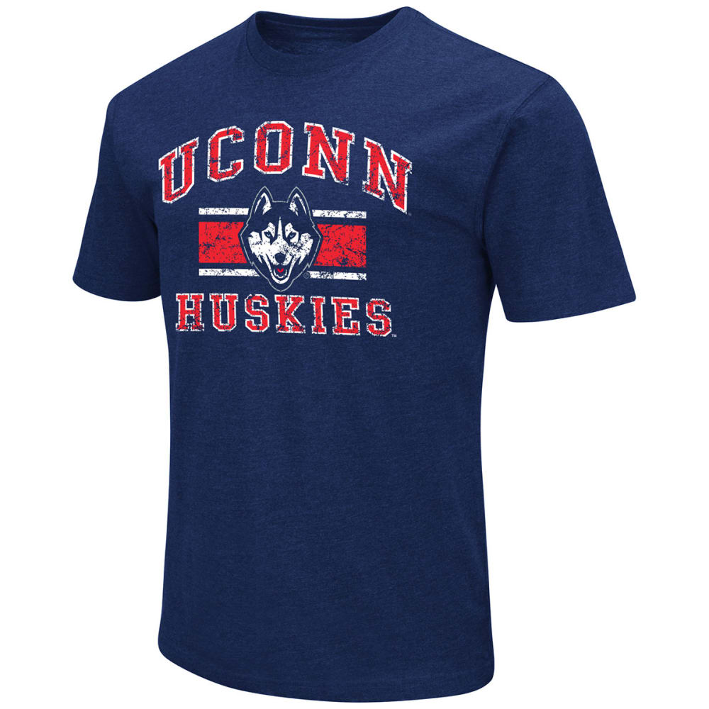 Uconn Men's Dual Blend Short-Sleeve Tee - Blue, M