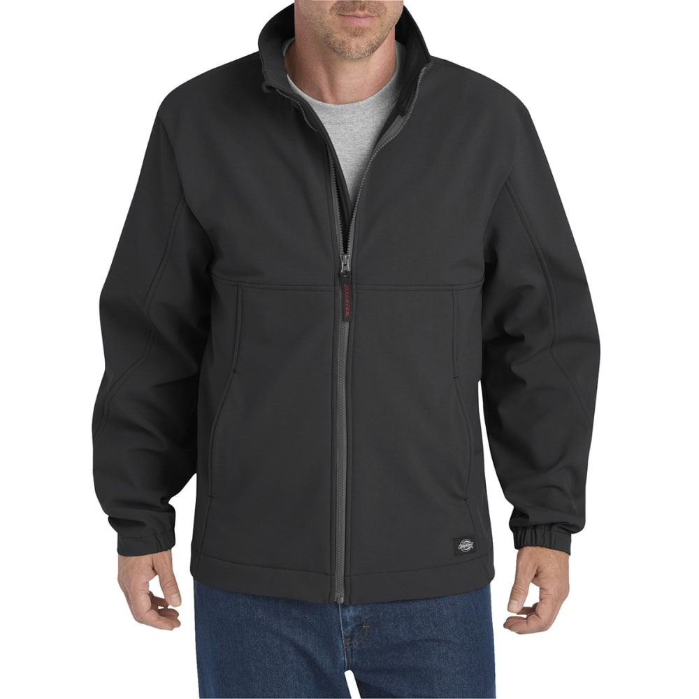 DICKIES Men's Performance Flex Softshell Jacket - BLACK