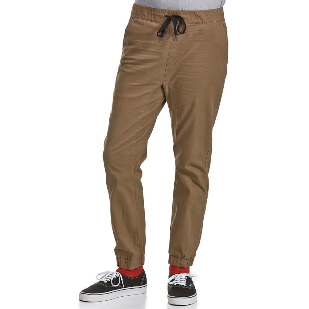 OCEAN CURRENT Guys' Backslide Woven Jogger Pants - HAZELNUT