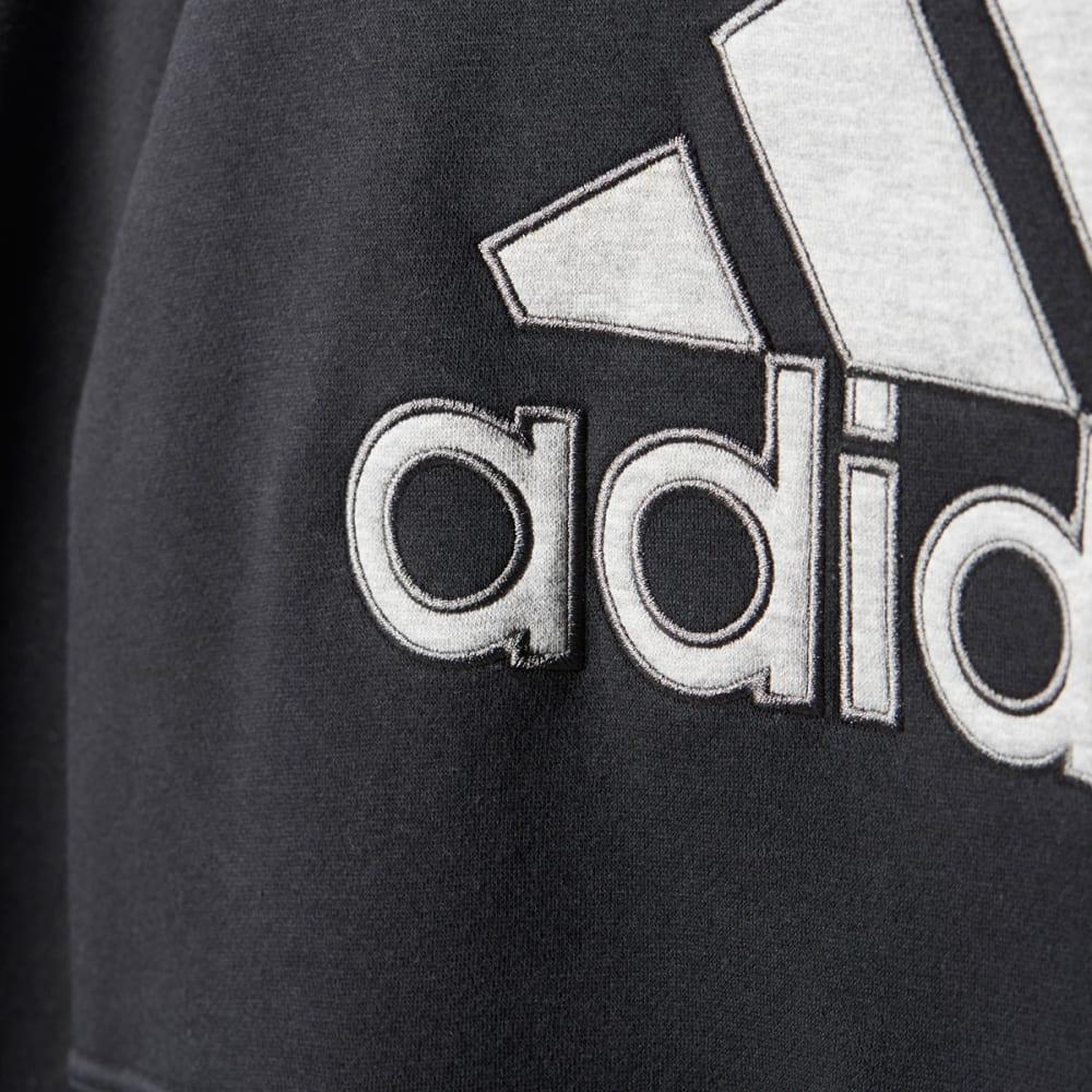 ADIDAS Women's Logo Pullover Hoodie - BLACK-BS5068