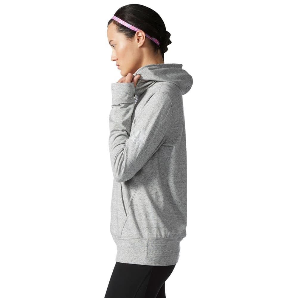 ADIDAS Women's SW Front Pocket Pullover Hoodie - MGH-S97759