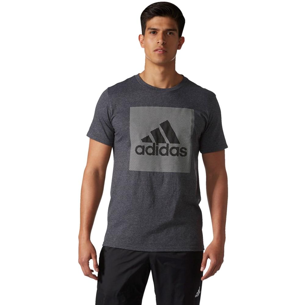 ADIDAS Men's Badge of Sport Mesh Logo Tee - DGH-BQ3675