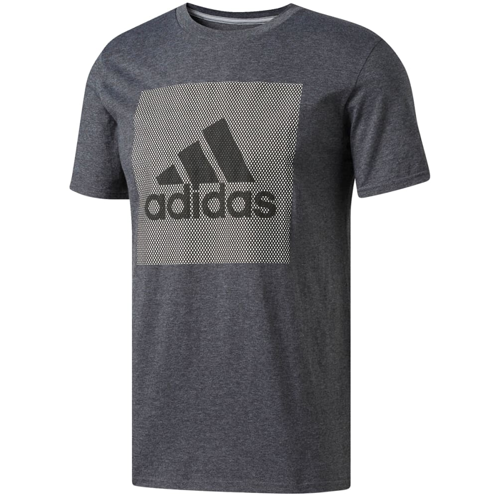 Adidas Men's Badge Of Sport Mesh Logo Tee - Black, XL