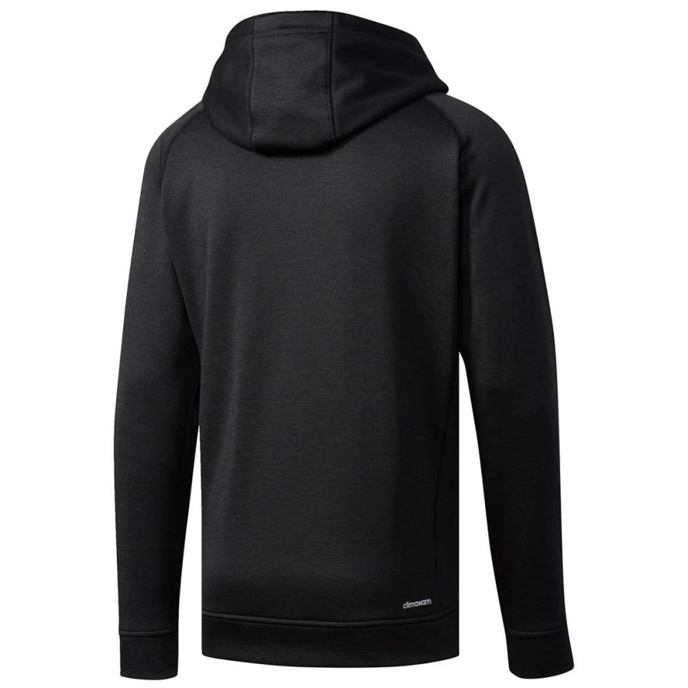 ADIDAS Men's Team Issue Raglan Pullover Hoodie - BLACK-BP6989