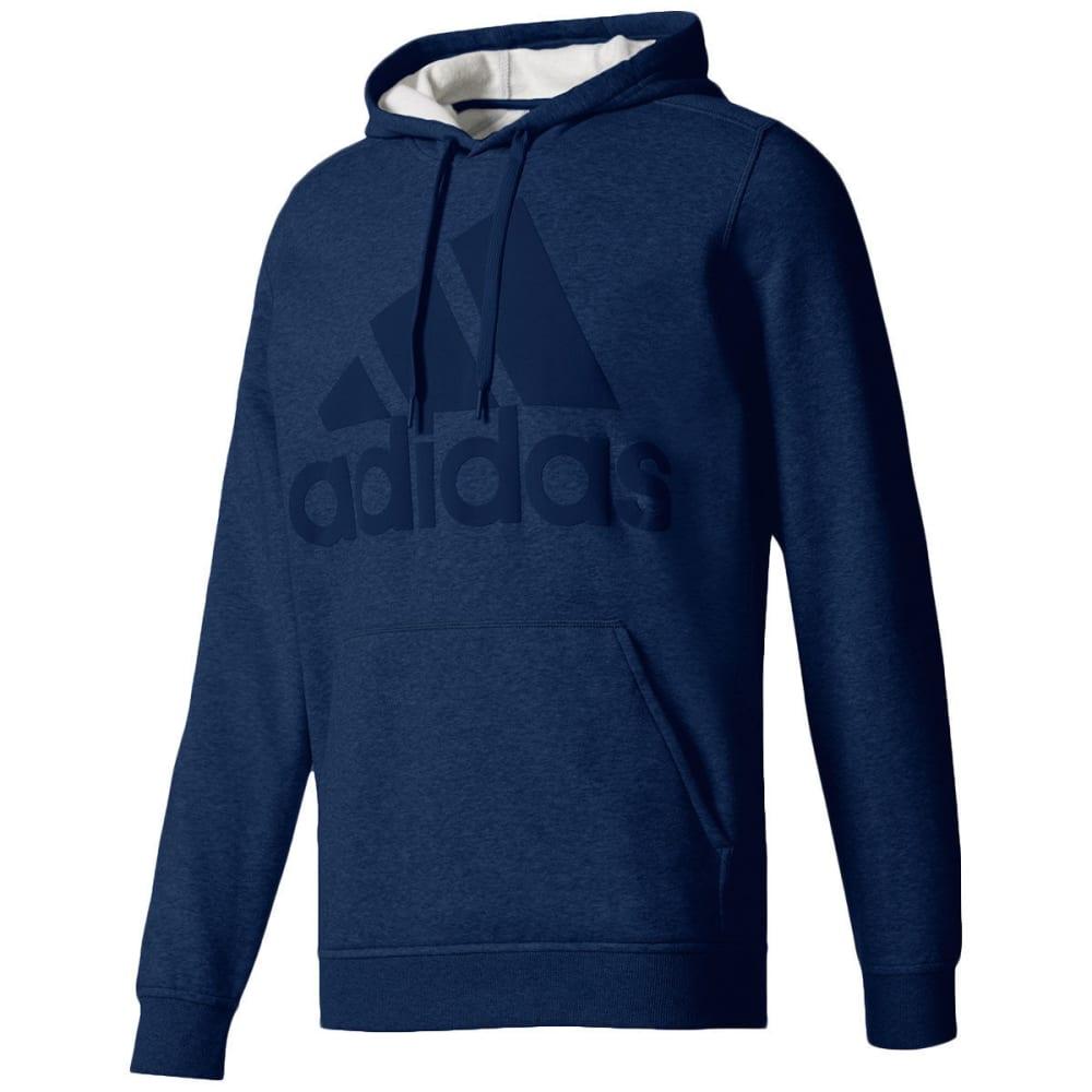 Adidas Men's Exult Logo Hoodie - Blue, XL