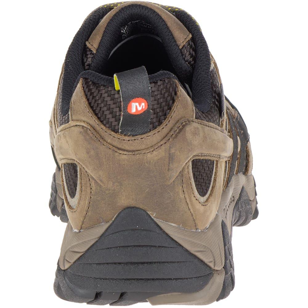 MERRELL Men's Moab 2 Vent Waterproof Composite Toe Work Shoes, Boulder Light Brown - BOULDER LT BRN