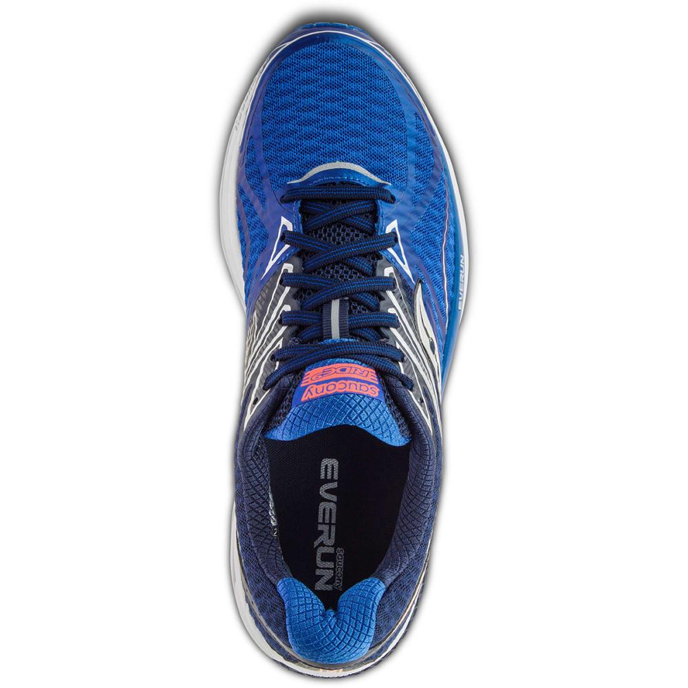 SAUCONY Men's Ride 9 Running Shoes, Blue - BLUE