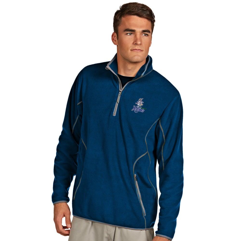 HARTFORD YARD GOATS Men's ¼-Zip Ice Pullover - DARK ROYAL