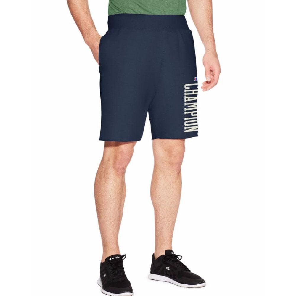 CHAMPION Men's Heritage Fleece Shorts - ANCHOR SLATE-Y19