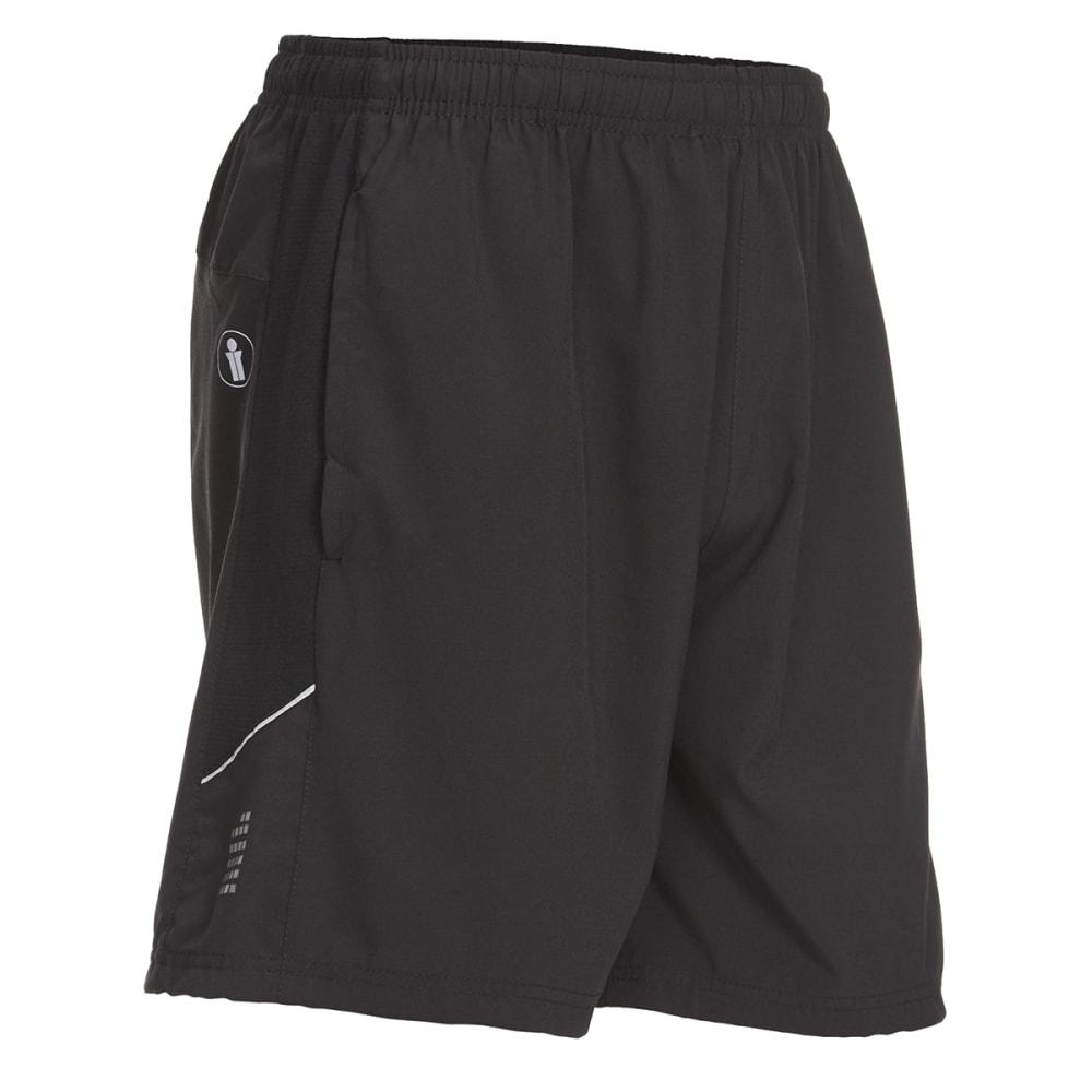 BOLLINGER Men's Training Woven Shorts - BLACK/BLACK