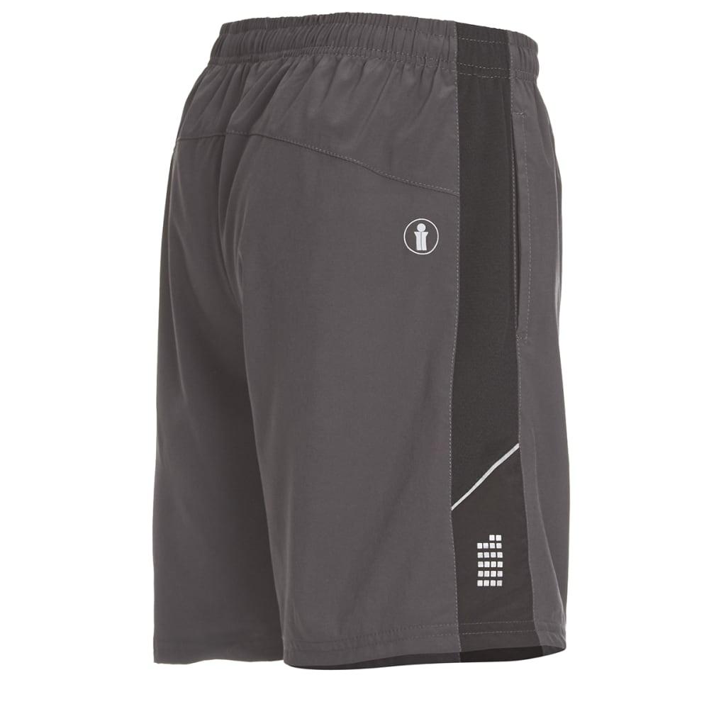 BOLLINGER Men's Woven Training Shorts - CHARCOAL/BLACK