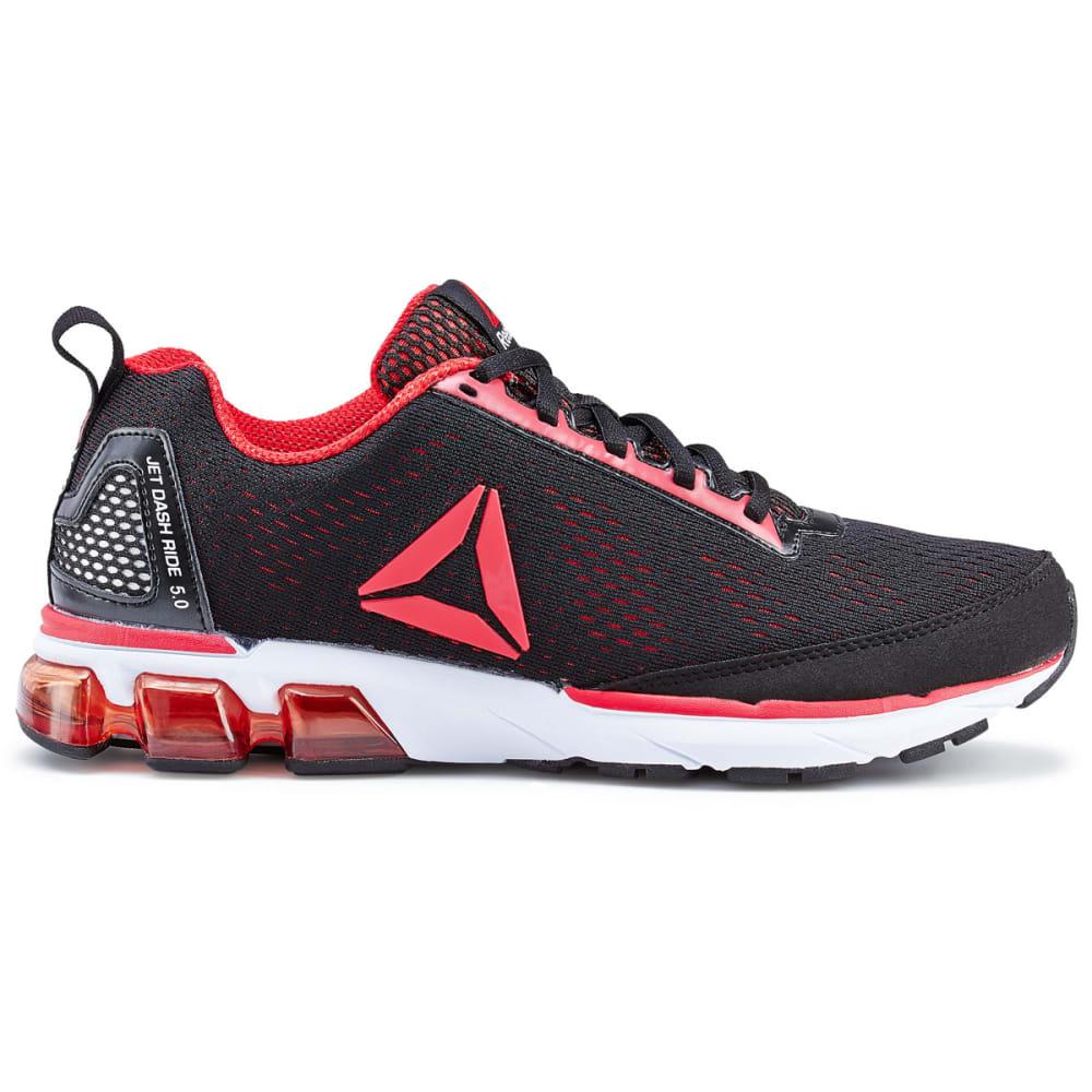 REEBOK Men's Jet Dashride 5.0 Running Shoes - BLK/RED-CN1550