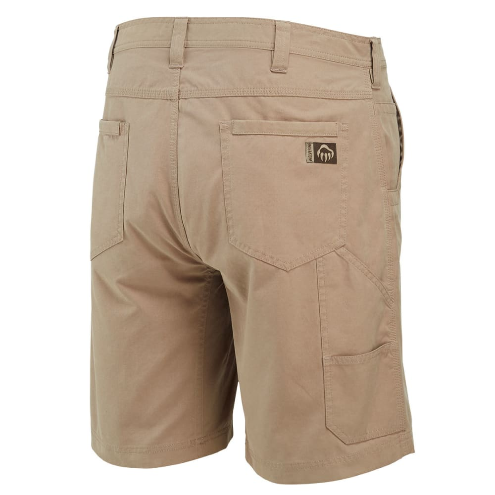 WOLVERINE Men's 10 in. Flathead Shorts - 262 KHAKI