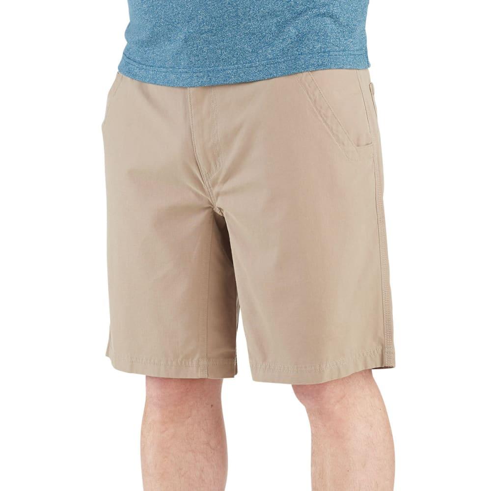 WOLVERINE Men's 10 in. Flathead Shorts - 262 KHAKI