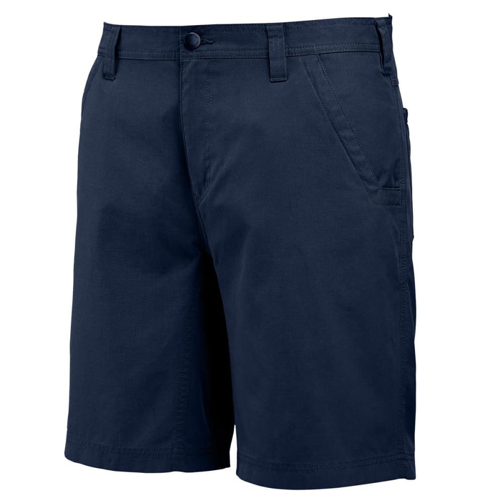 WOLVERINE Men's 10 in. Flathead Shorts - 417 NAVY