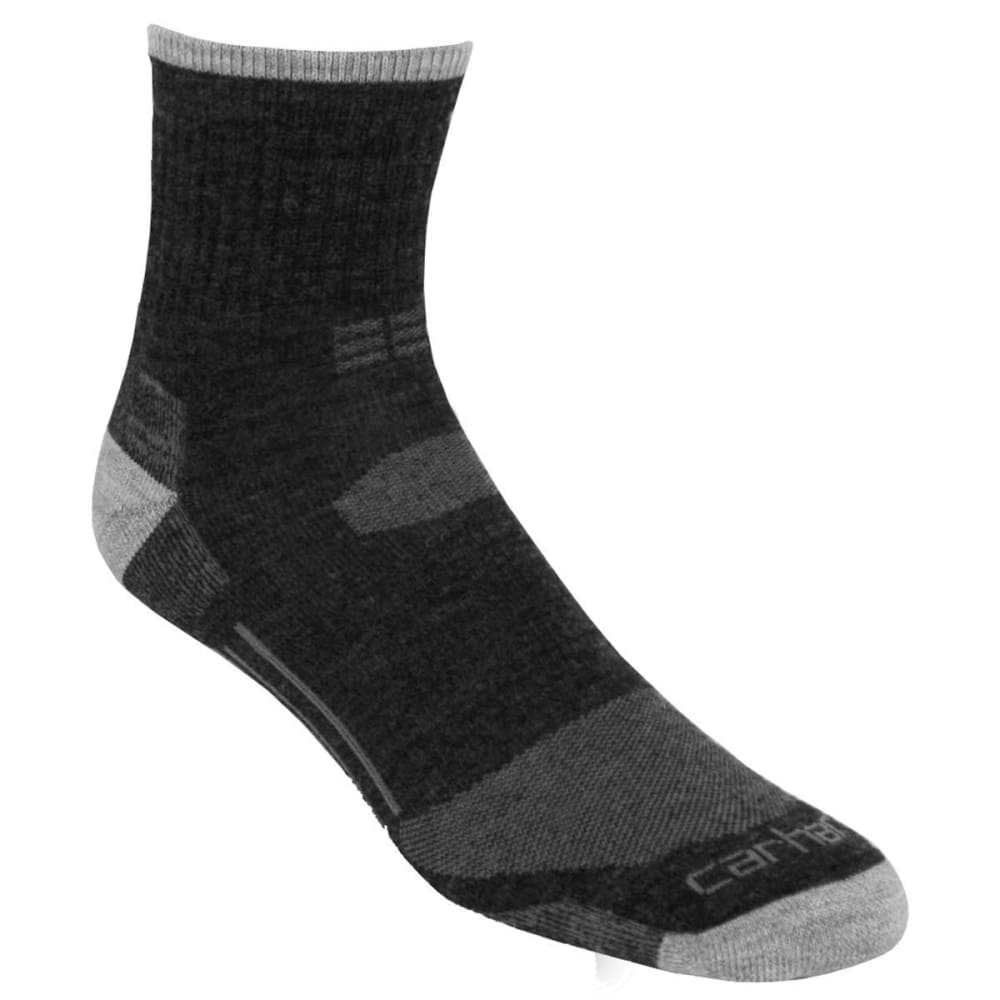 CARHARTT Men's All-Terrain Quarter Socks - CHARCOAL-CHH