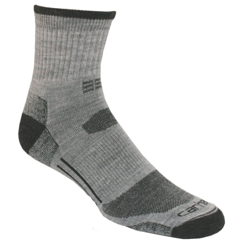 CARHARTT Men's All-Terrain Quarter Socks - GREY-HGY