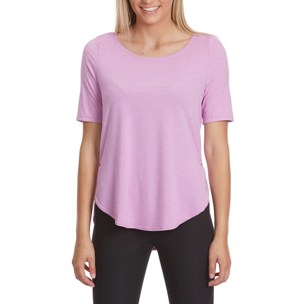 APANA Women's Short-Sleeve Tee - SMOKEY GRAPE