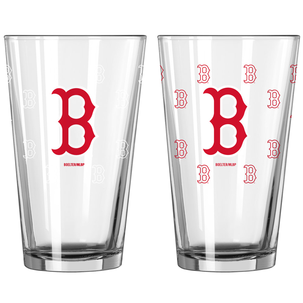 BOSTON RED SOX 16 oz. MLB Color Change Pint Glass - NO COLOR