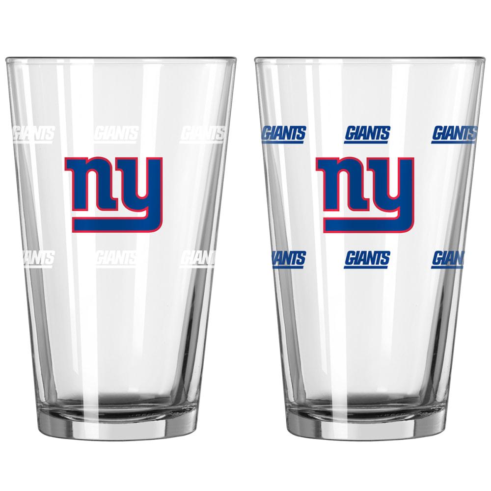 NEW YORK GIANTS 16 oz. NFL Color Change Pint Glass - NO COLOR
