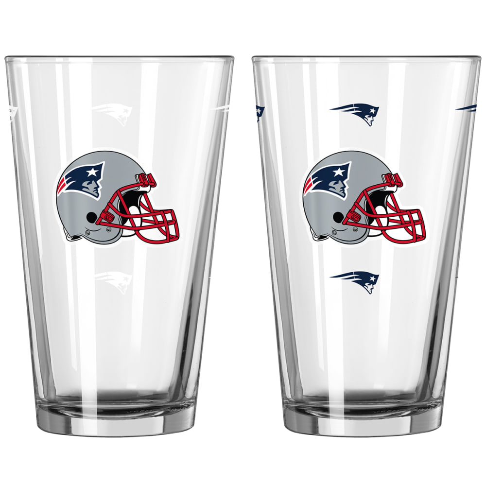 NEW ENGLAND PATRIOTS 16 oz. NFL Alternate Color Change Pint Glass - NO COLOR